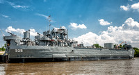 WWII Ship - LST 325 - Downtown Evansville