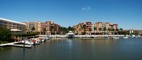 Panoramic View of Waterfront Condos