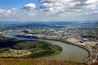 Lookout Point View of Chattanooga