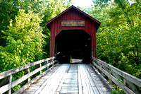 Bean Blossom Covered Bridge 1880