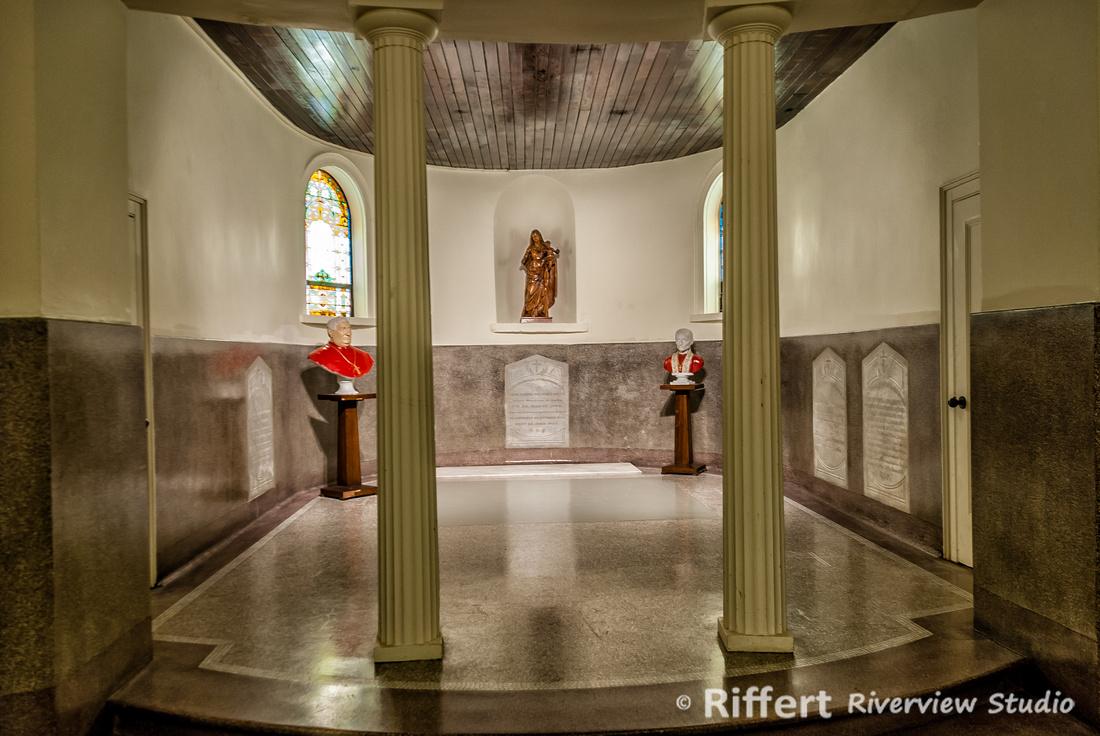 Basement in St. Francis Xavier Catholic Church