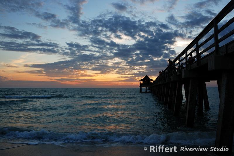 E2c500741 on Naples Florida Pier Sunset